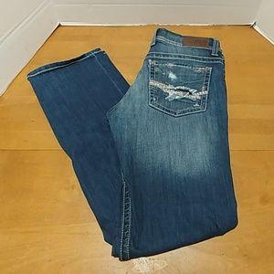 BKE Jeans 30 long Bootcut Stretch Denim